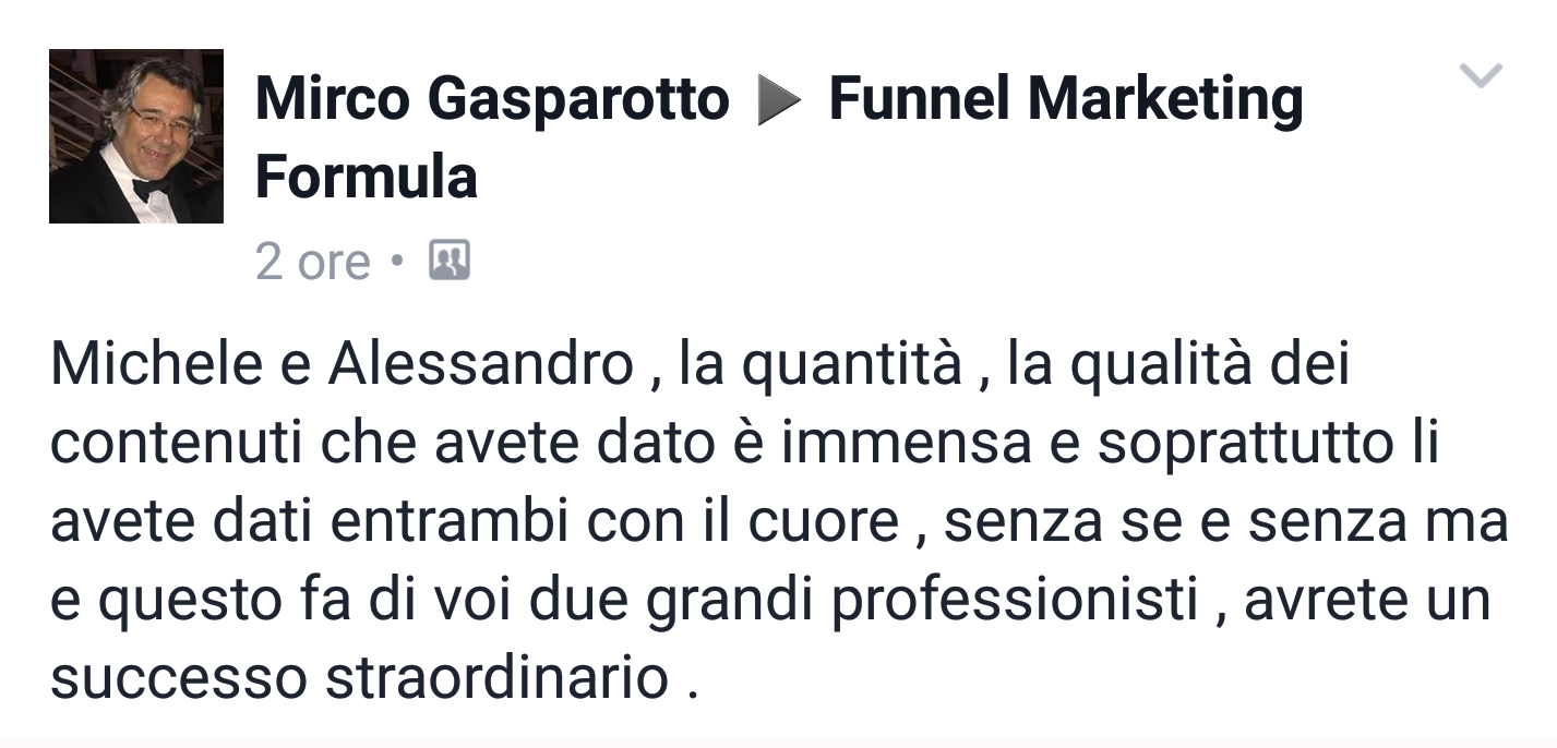Mirco Gasparotto - Funnel Marketing